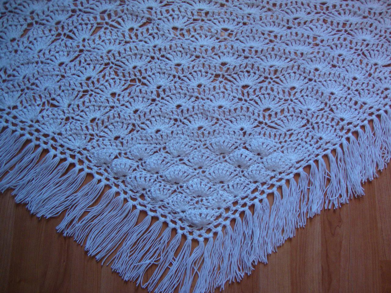 châle en laine pour Mireille